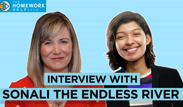 Sonali the endless river with Cath Anne on the Homework Help Show
